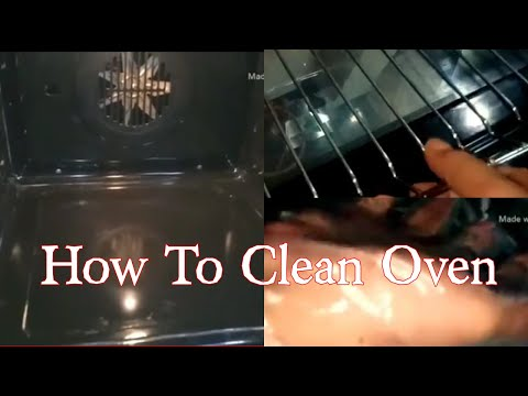 Vlog 82|| HOW TO CLEAN YOUR OVEN WITH BAKING SODA & VINEGAR ||Bangladeshi Family Vlogs