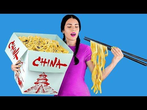 手作りの巨大食品vsミニチュア食品7つ/おもしろイタズラ!