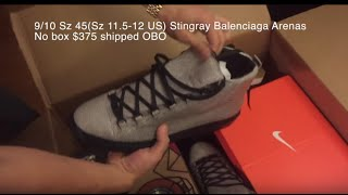 Beater Box Unboxing #4 from Sole Supremacy $760 (BALENCIAGAS?!?)