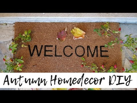 10 IDEE FACILI PER DECORARE LA CASA IN AUTUNNO - HOME DECOR DIY