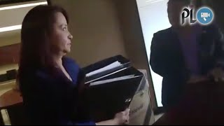 secretaria de rabbé intentó ocultar documentos en oficina de otro diputado