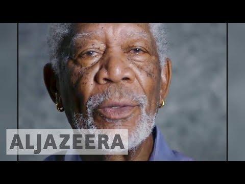 US actor Morgan Freeman