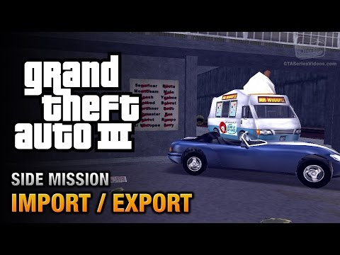 GTA 3 - Import/Export [Play Fetch & Pest Control Trophies]