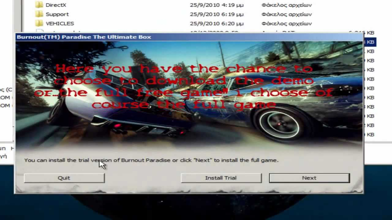 download burnout paradise online patch