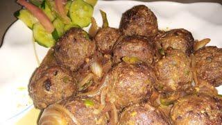 Shahi Kafta kabab sizzler recipe in urdu hindi  beef kabab recipe in urdu hindi  Zaikedar Kitchen