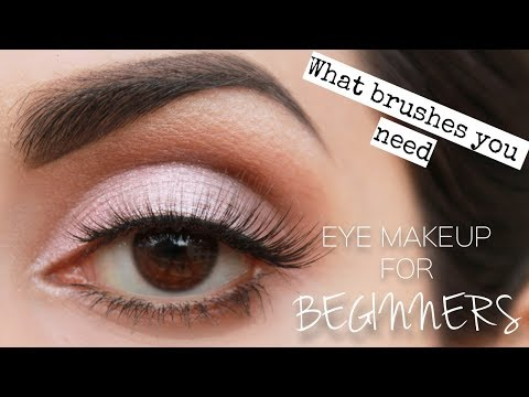 Eye makeup for BEGINNERS | Easiest way to learn | Urdu/Hindi