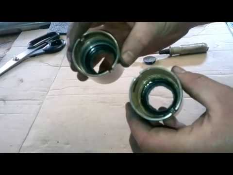 Ремонт стаканов передней вилки мотоцикла Минск