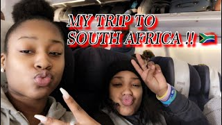 MY TRIP TO AFRICA || VLOG PT 1 !!