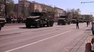 9 мая 2015 Военная техника в Москве на Ленинградском проспекте