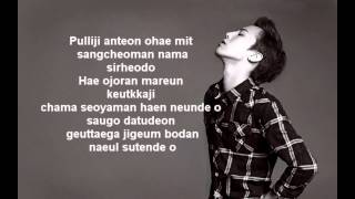 Gambar cover G-Dragon - Missing You Lyrics