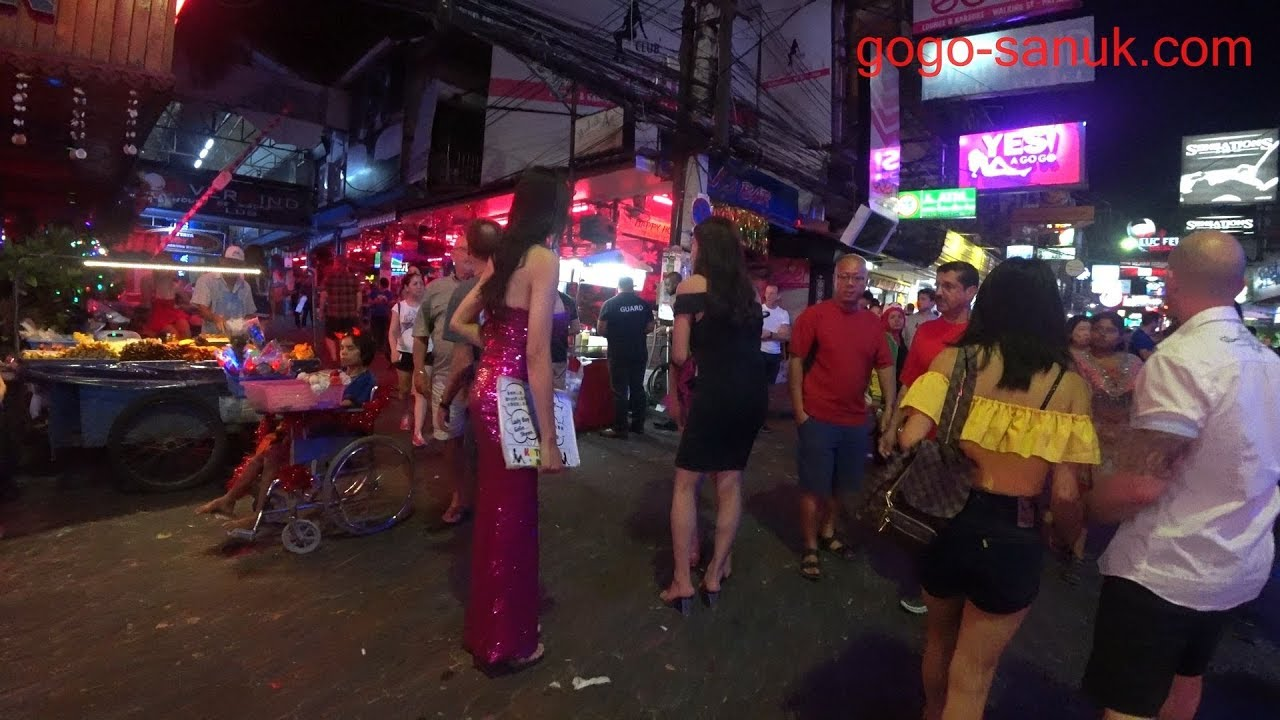 Pattaya Midnight Walking 2019 Walking Street E3 80 904k Video E3 80 91