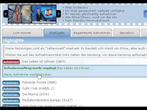 Online TV Recorder - Www.otv.de.ki