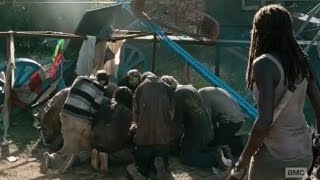 Rick's death scene - The Walking Dead 7x12