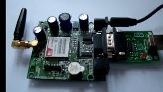 Using AT Commands with SIM900 GSM Modem