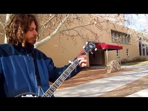 Albuquerque's University Of New Mexico (Part  3) (Banjo by Lars Fabricius-Olsen)