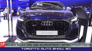2020 Audi RS Q8 European Specifications - Exterior And Interior - Toronto Auto Show 2020