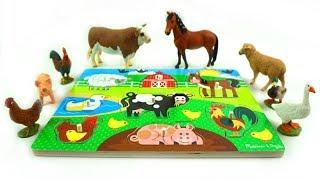 فيديو ألعاب تعلم الحيوانات للأطفال وتعلم الألوان