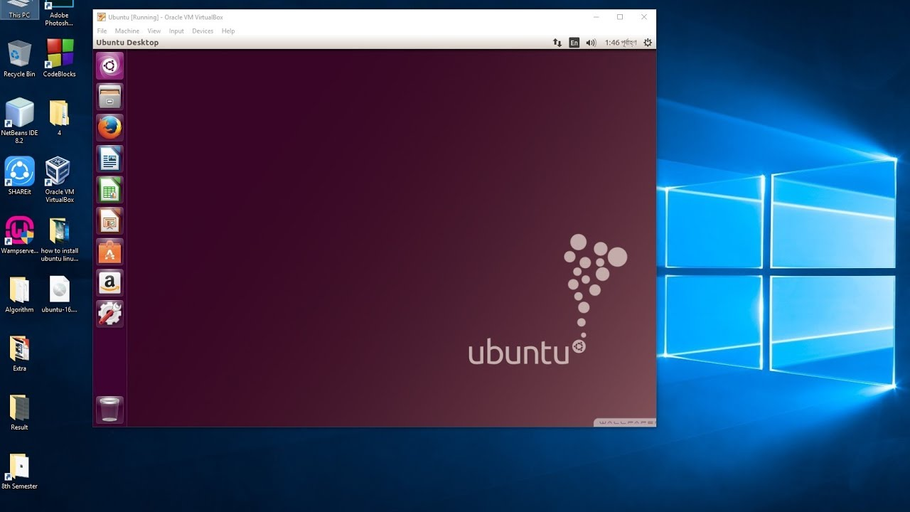 How to Install and Run Ubuntu on Windows 10 Side by Side