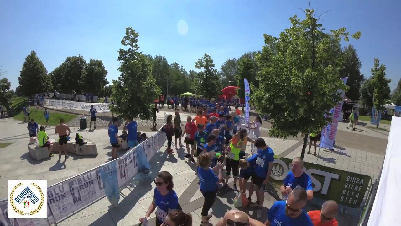 Blu Run Parco Certosa in Timelapse