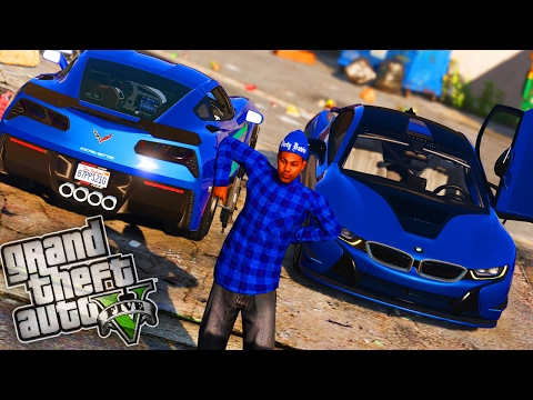 Crips Gang Wars!! - GTA 5 Gang Mod - Day 94