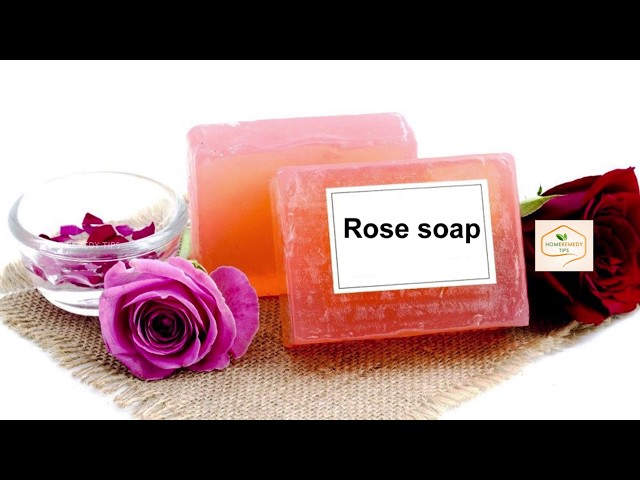 DIY: Rose Petal Bar Soap