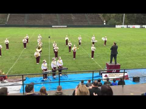 Unaka High School Marching Band - The Karate Kid - HD