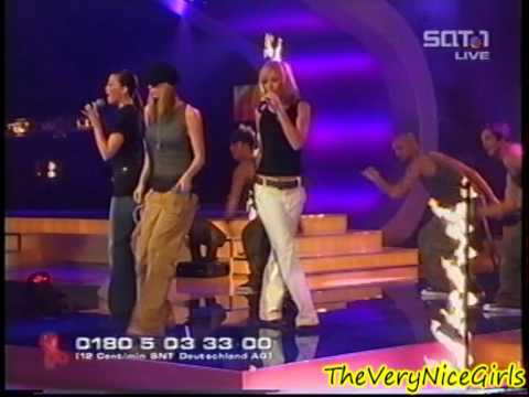 Atomic Kitten - The Tide Is High / The Last Goodbye - live