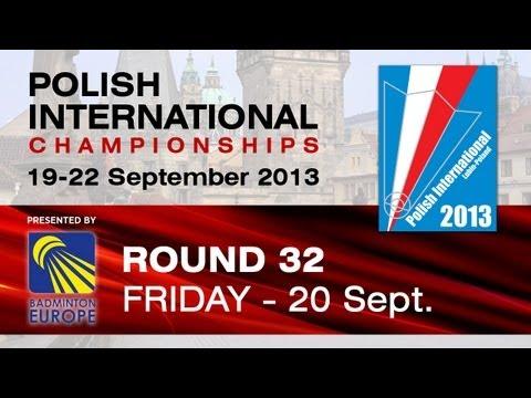R32 - MS - Joe Wu vs Jakub Bitman - Polish International 2013