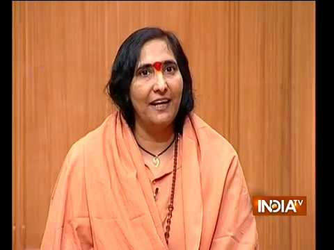Congress should back ordinance on Ram temple in parliament, says Sadhvi Rithambara