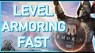 New World: How T๐ Level ARMORING Fast! 5 Best Recipes for Level 1-200