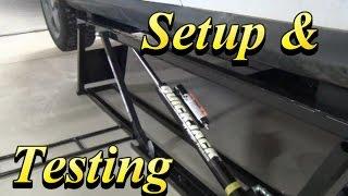 QuickJack BL-5000SLX Setup & Testing