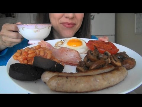 ASMR: Full English Breakfast | English Fry Up| Show & Tell |