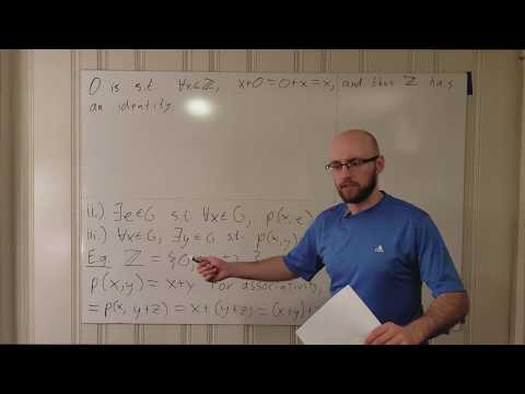 Group Lecture 1.1: Groups, Monoids, and Semigroups