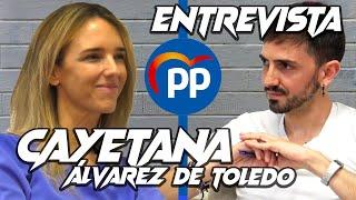 """IGLESIAS debe ir a la papelera de la historia"" Entrevista CAYETANA ÁLVAREZ DE TOLEDO | InfoVlogger"