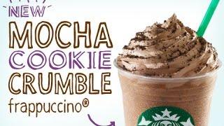DIY Starbucks Mocha Cookie Crumble Frappuccino