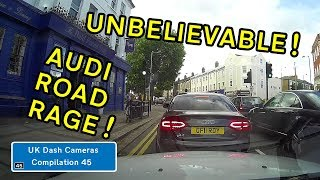 UK Dash Cameras - Compilation 45 - 2018 Bad Drivers, Crashes + Close Calls