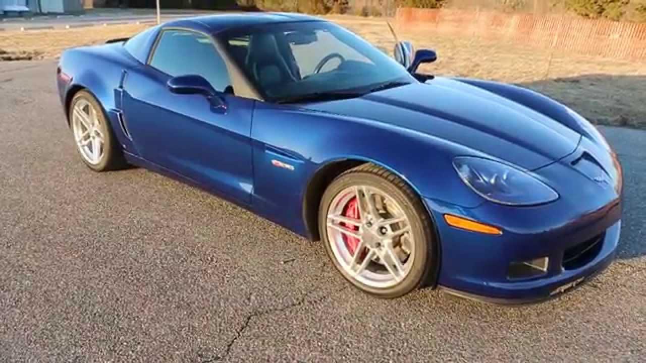 2006 corvette z06 for sale only 5 291 miles navigation htd seats polished rims mint youtube. Black Bedroom Furniture Sets. Home Design Ideas