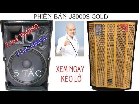 Loa Kéo Công Suất Lớn 1000w JMW J8000s Phiên Bản Gold - Điện Máy 168