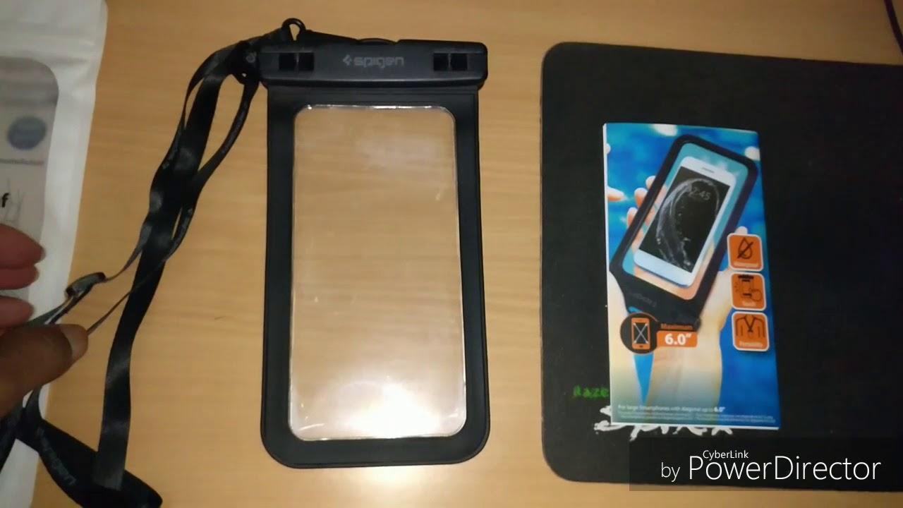 Spigen Velo A600 Waterproof Case Unboxing