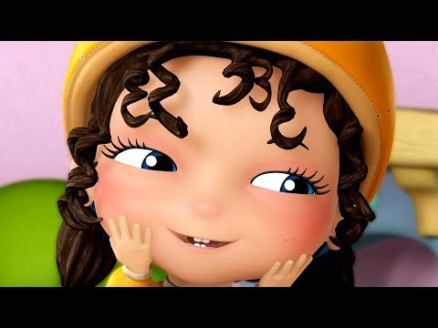 Chubby Cheeks Dimple Chin and much more | Kids Rhymes | Infobells