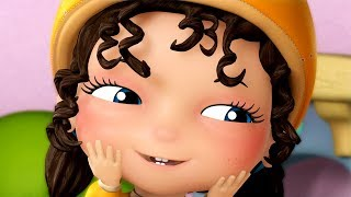 Chubby Cheeks Dimple Chin and much more | Kids Rhymes | Infobells thumbnail