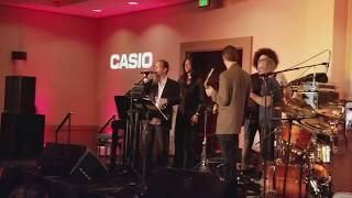 Casio Namm Steve Weingart cd release party