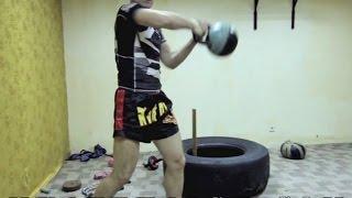 Тайский бокс Тренировки - Физподготовка с железом для бойца(Бесплатные и проверенные 4 видео урока покажут как Освоить идеальную технику Муай Тай уже через 2 недели,..., 2014-03-10T04:49:24.000Z)