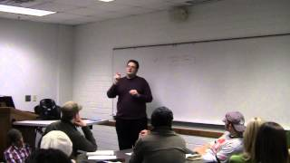 2013 Brandon Sanderson Lecture 1: Goal #1 Build Good Habits (1/10)
