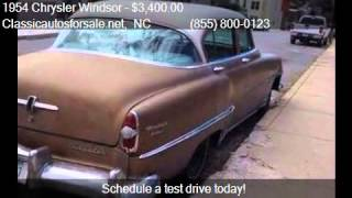 1954 Chrysler Windsor Deluxe for sale in Nationwide, NC 2760 #VNclassics