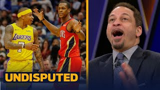 Chris Broussard reacts to Isaiah Thomas - Rajon Rondo altercation | UNDISPUTED