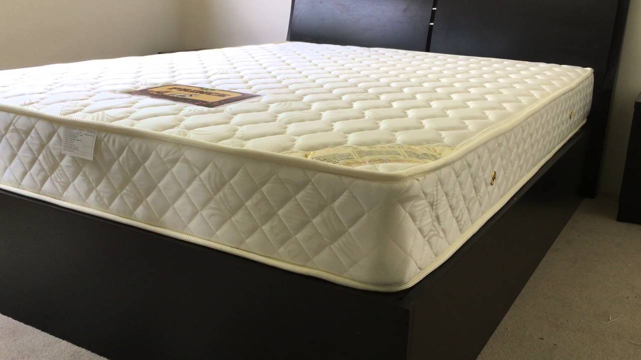 extra firm prince mattress with both side coir mat youtube