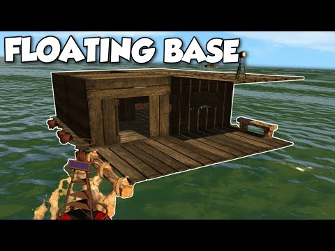BUILDING A FLOATING BASE! - Landless Gameplay [Ep 5] Early A