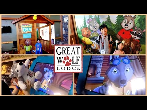 GREAT WOLF LODGE  CLUBHOUSE CREW ADVENTURE COMPLETED  Fun Interactive Kids Game