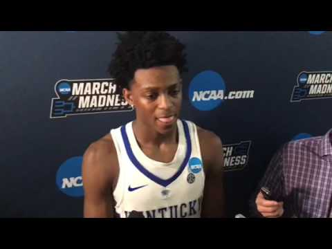 De'Aaron Fox post-UCLA 3/24/17